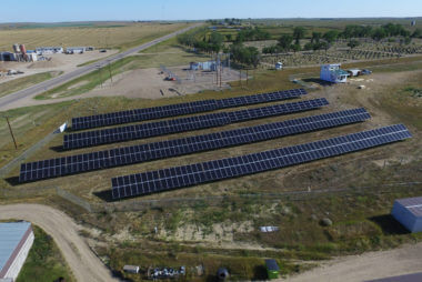 200KW Solar Plantation in Maple Creek | Rural Municipality No 111 | Saskatchewan