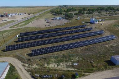 200KW Solar Plantation in Maple Creek | Rural Municipality No 111 | Saskatchewan