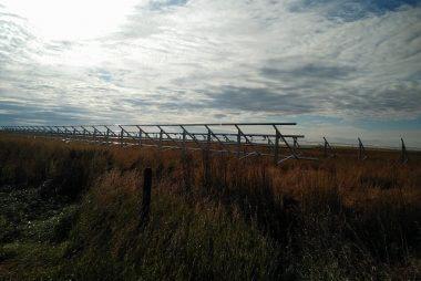 92KW solar power system in Burdett | Alberta