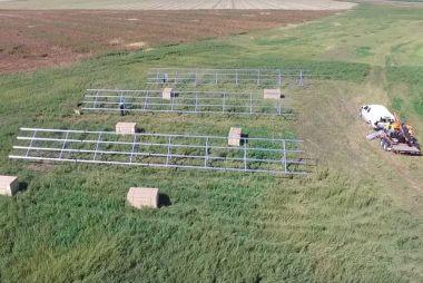 45KW solar power system in Grassy Lake | Alberta