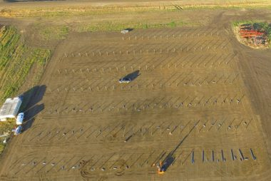 400KW solar power system in Biggar | Saskatchewan